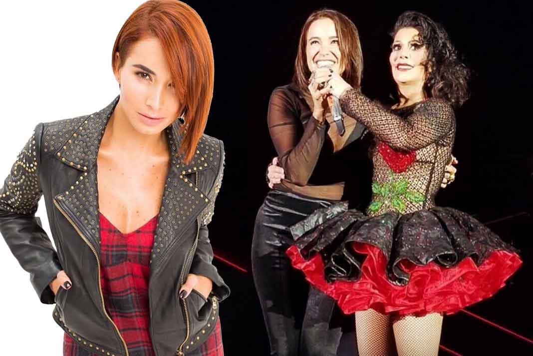 Alejandra Guzmán subió a Majida al escenario para presentársela al público