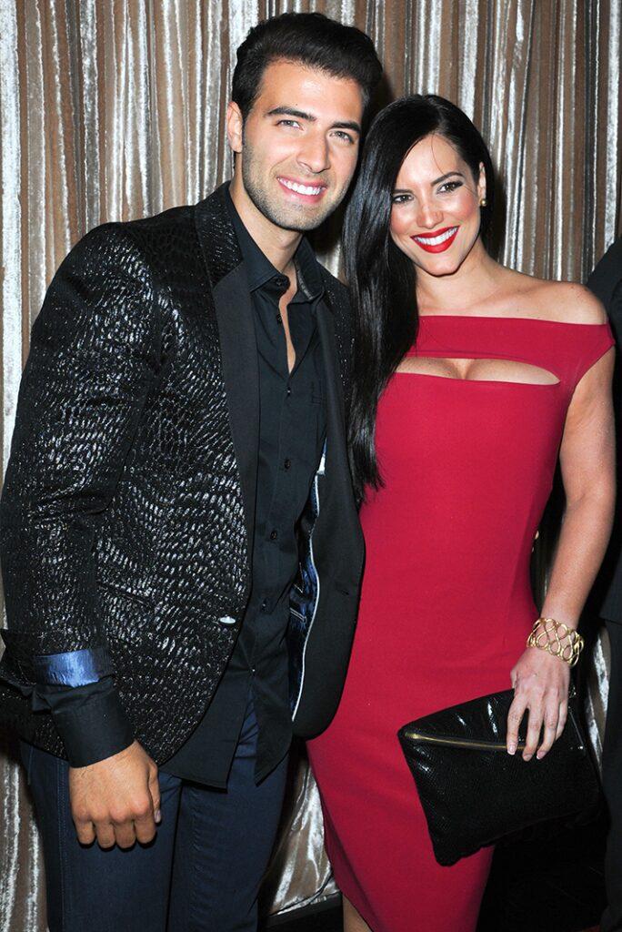 Jencarlos Canela y Gaby Espino en otros tiempos cuando formaban una de las parejas más bellas del mundo del espectáculo.