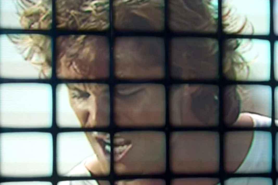 Lusi Miguel y sus amigos aparecieron en la disco, cuando estrenaron el video