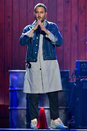 Jesús Navarro, de Reik, en Premios Billboard 2018