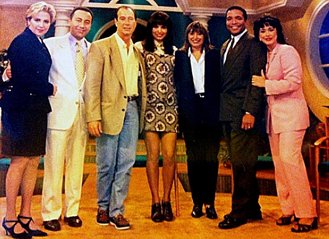 Aquí todos con Cisco Suárez y Mary García Márquez
