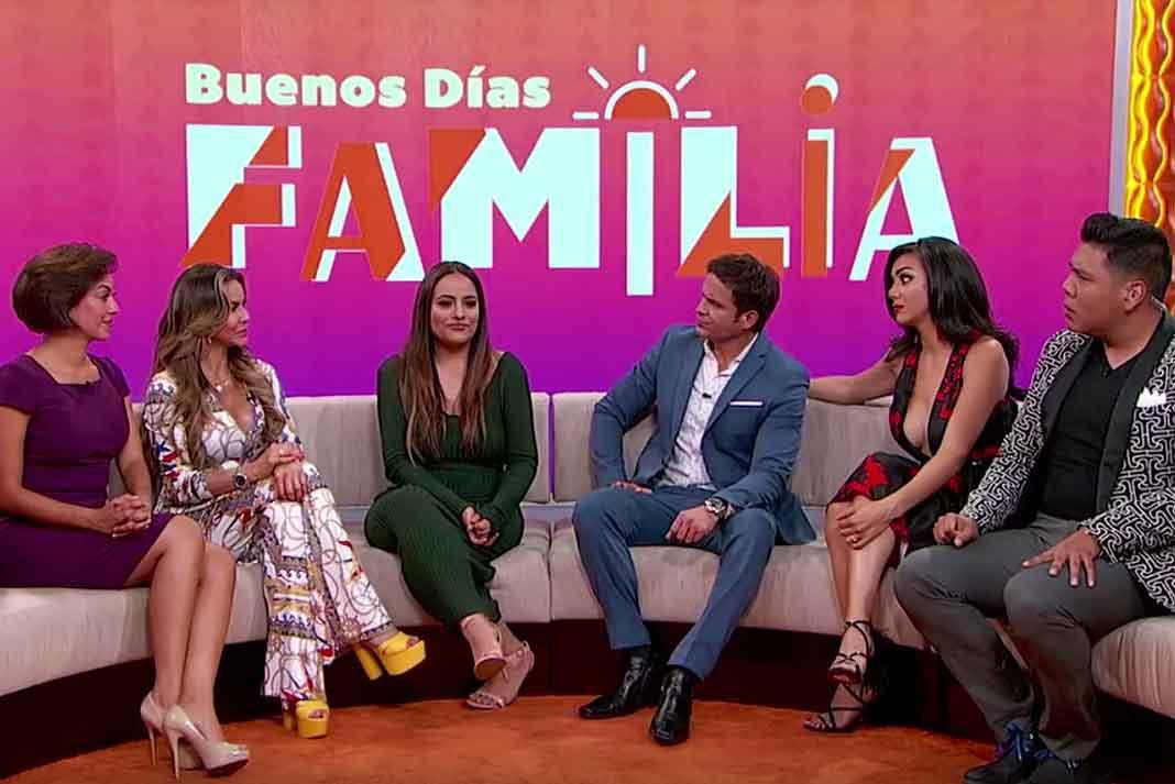 Luz Estrada, Aylín Mujica, Yul Bürckle, María Elena Anaya y Said García Solís se llevaron la exclusiva con Mayeli en el show matutino de EstrellaTV