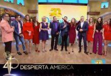 """Qué padre que hayan puesto en los Emmy una imagen donde participamos los primeros y los nuevos presentadores de """"Despierta América"""""""