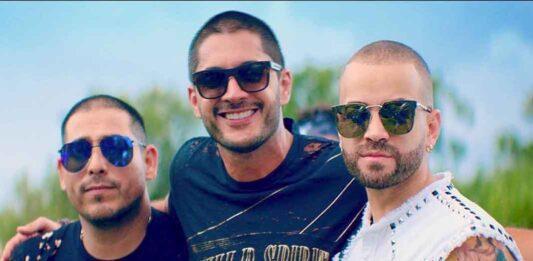 Espinoza Paz, Daniel Elbittar y Nacho grabaron una canción bien adre