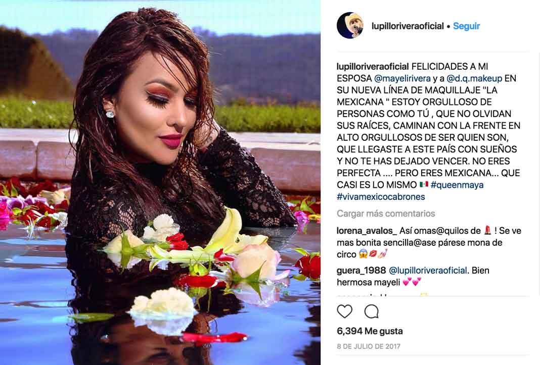 El cantante siempre la apoyo en los negocios que ella emprendía, como ensayo su línea de maquillaje