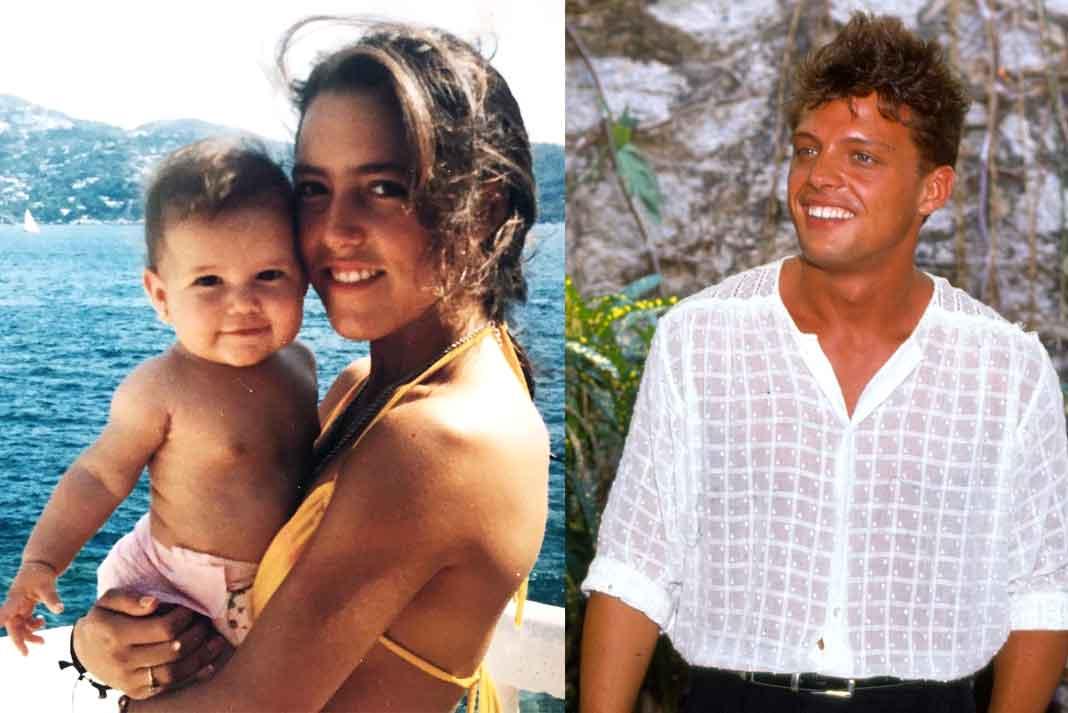 Stephanie tuvo a su hija Michelle después de una breve relación con Luismi, que según la serie, sólo fue un acostón