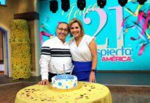 Qué gusto celebrar con Fernando Arau un aniversario más de una aventura que iniciamos hace ya 21 años
