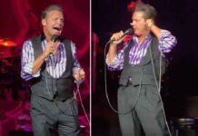Según los asistentes, el concierto de Luis Miguel en Tucson, Arizona, fue un gran karaoke, porque sólo el público cantaba
