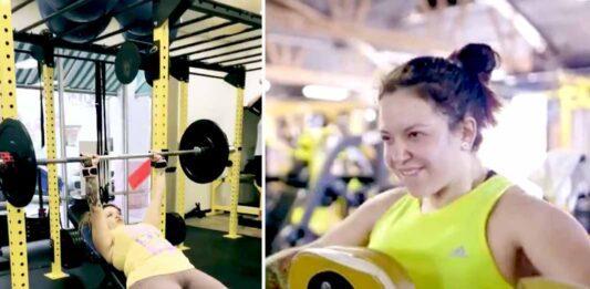 Qué fuerza de voluntad y disciplina tiene Jacqie para lograr bajar de peso