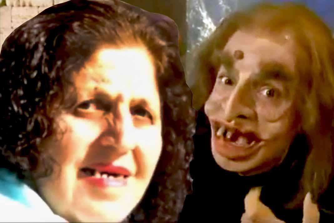Este es la imagen de la señora que Eugenio compara con su personaje de El Longe Moco, que no a todos gustó