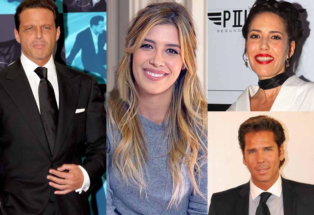 Luis Miguel, Michelle Salas, Stephanie Salas y Roberto Palazuelos