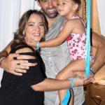 Adamari, Toni y Alaïa, súper felices después de que la chiquita participó en el Miami Fashion Week