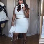 Arroyo se tomó una selfie para ver si lucía guapa antes de salir con el cantante