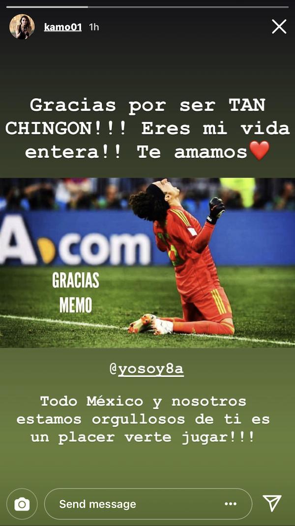 Karla Mora publicó esto en su Instagram. ¡Qué amor!