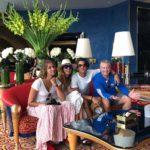 Qué padre viaje realizó Lili con sus hijos Lorenzo y Lina, y su hermano Juan