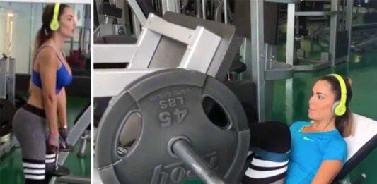 Ninel Conde compartió sus 7 rutinas de ejercicios para levantar pompa