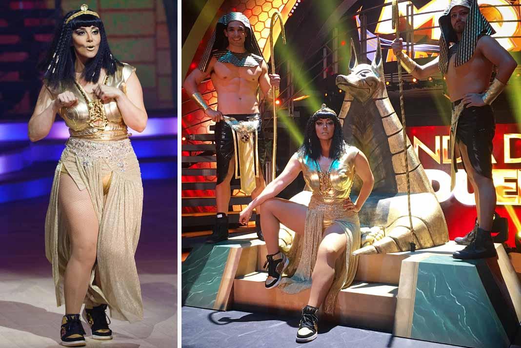 Rosie fue sentenciada tras participar en un baile urbano vestida de princesa egipcia