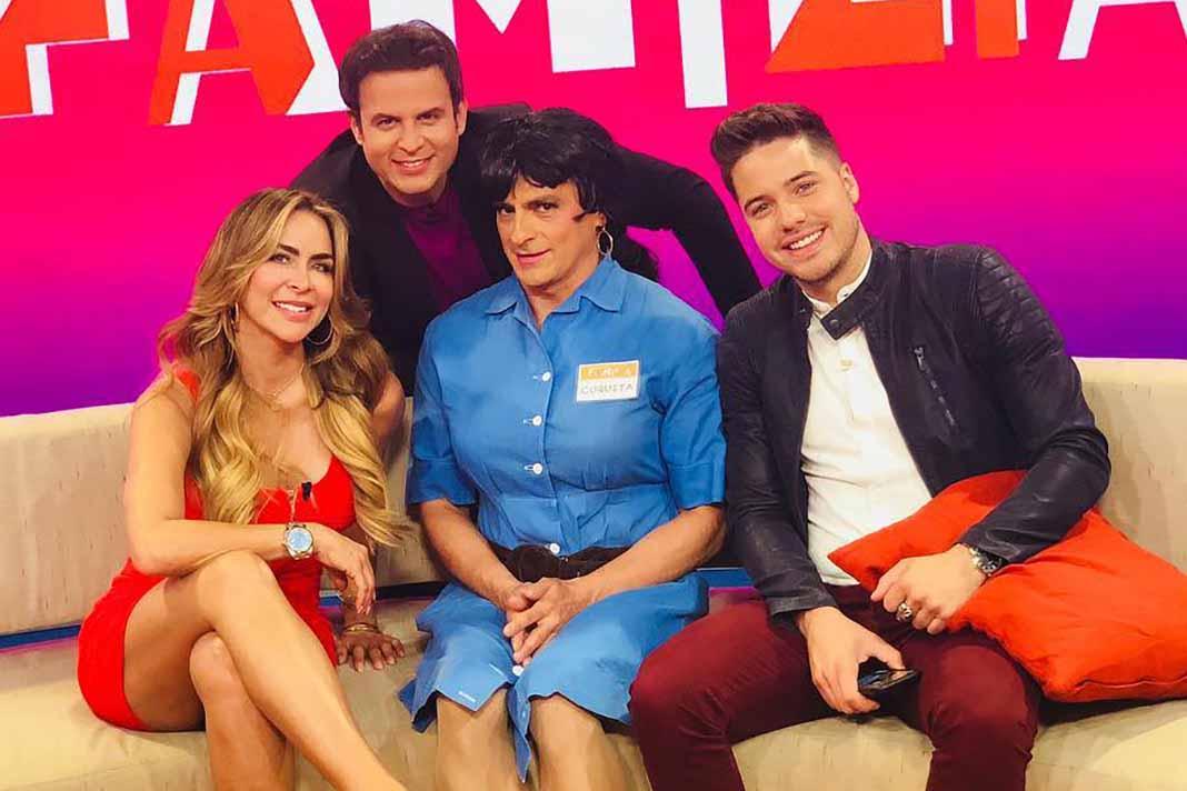Vanessa Arias y William Valdés se unieron a Aylín Mujica, Yul Burkle María Elena Anaya en el show matutino de Los Ángeles