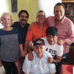 Mi pésame para la familia de Dani, tras la pérdida de su hermano Wolfgan, que en esta foto lo vemos abrazar a su papá