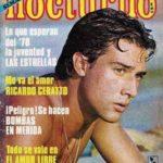 En los 70's era súper famoso entre las jovencitas y salía en todas las portadas de revistas