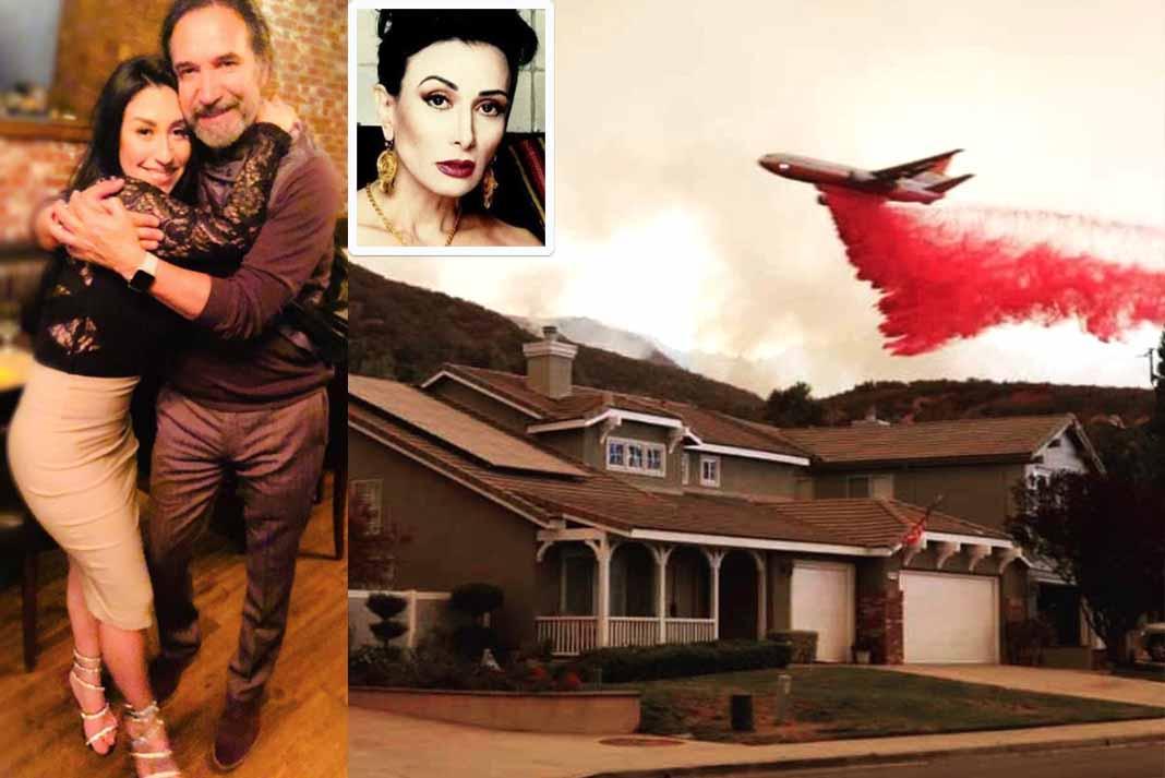 La hija de El Buki y Beatriz Adriana vivió muy de cerca los incendios que azotan California