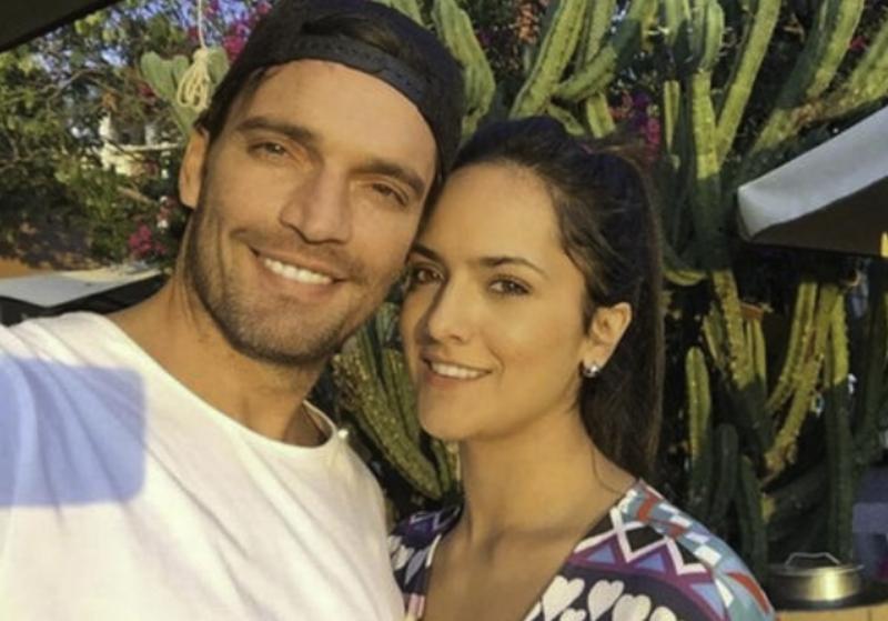 Julián Gil y Ana Lorena Sanchez Instagram