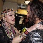 Maluma no lo podía creer cuando estuvo frente a frente a Madonna