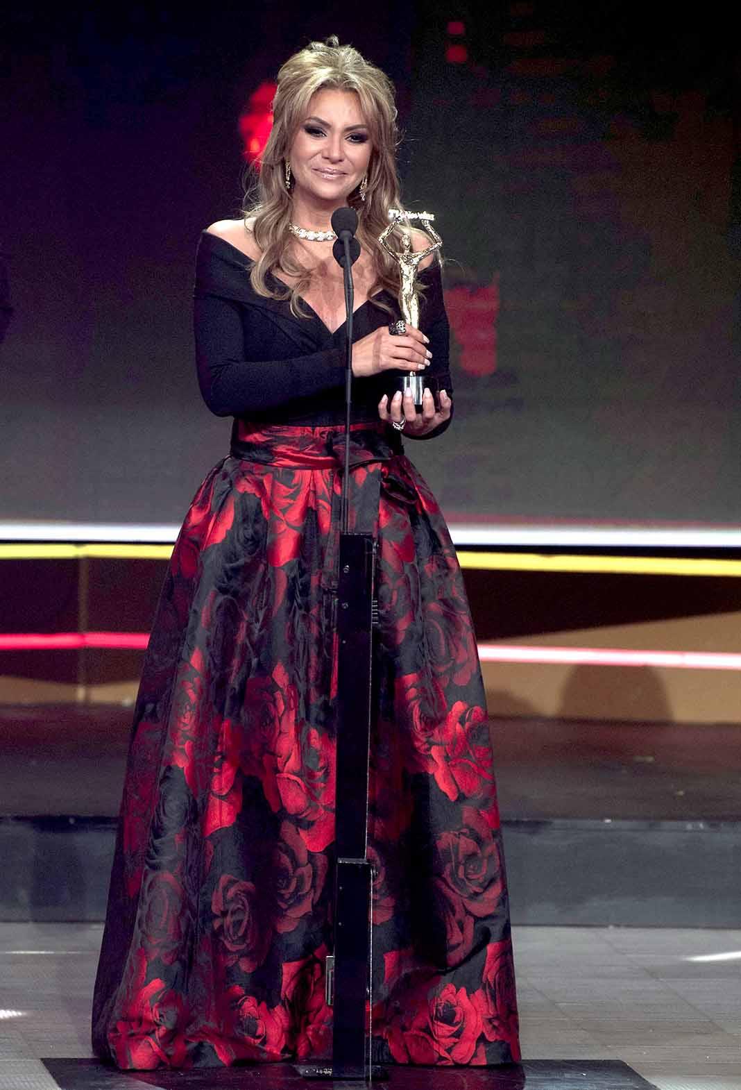 Triunfó en los premios TVyNovelas de este año