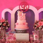 Un acercamiento al pastel de las festejadas