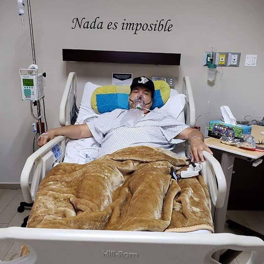 Julio el año pasado estuvo en riesgo de morir a causa de una trombosis