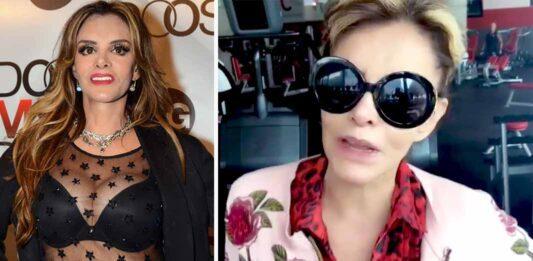 Lucía Méndez difundió un video haciendo caminadora en el gym, pero vestida de una manera peculiar