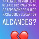Reacción de Julián en su Instagram Stories