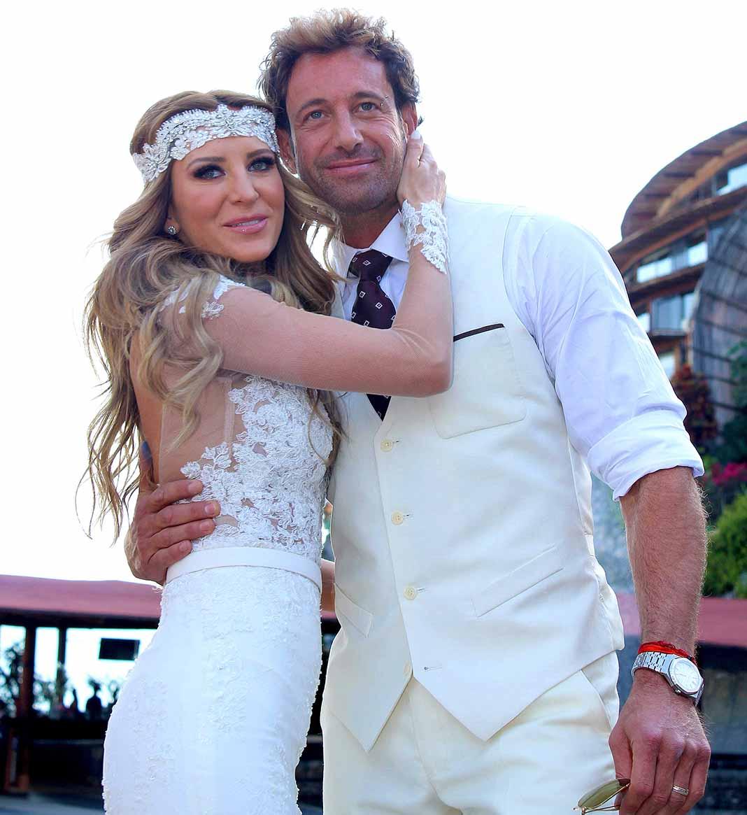 Con su boda en febrero de 2016 Gabriel y Geraldine parecían sellar su amor para siempre