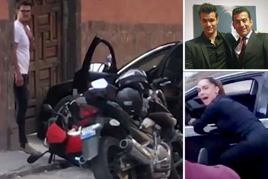 Brandon Peniche tenía una relación muy cercana con Isaías, pareja de Sharis, quien gritó pidiendo ayuda