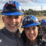 Héctor Francisco y Edelmira, la hermana de Isaís, en una foto que el supuesto coautor subió a sus redes