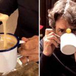 Esta es la peculiar bebida de Eugenio Derbez… ¿Se les antoja?