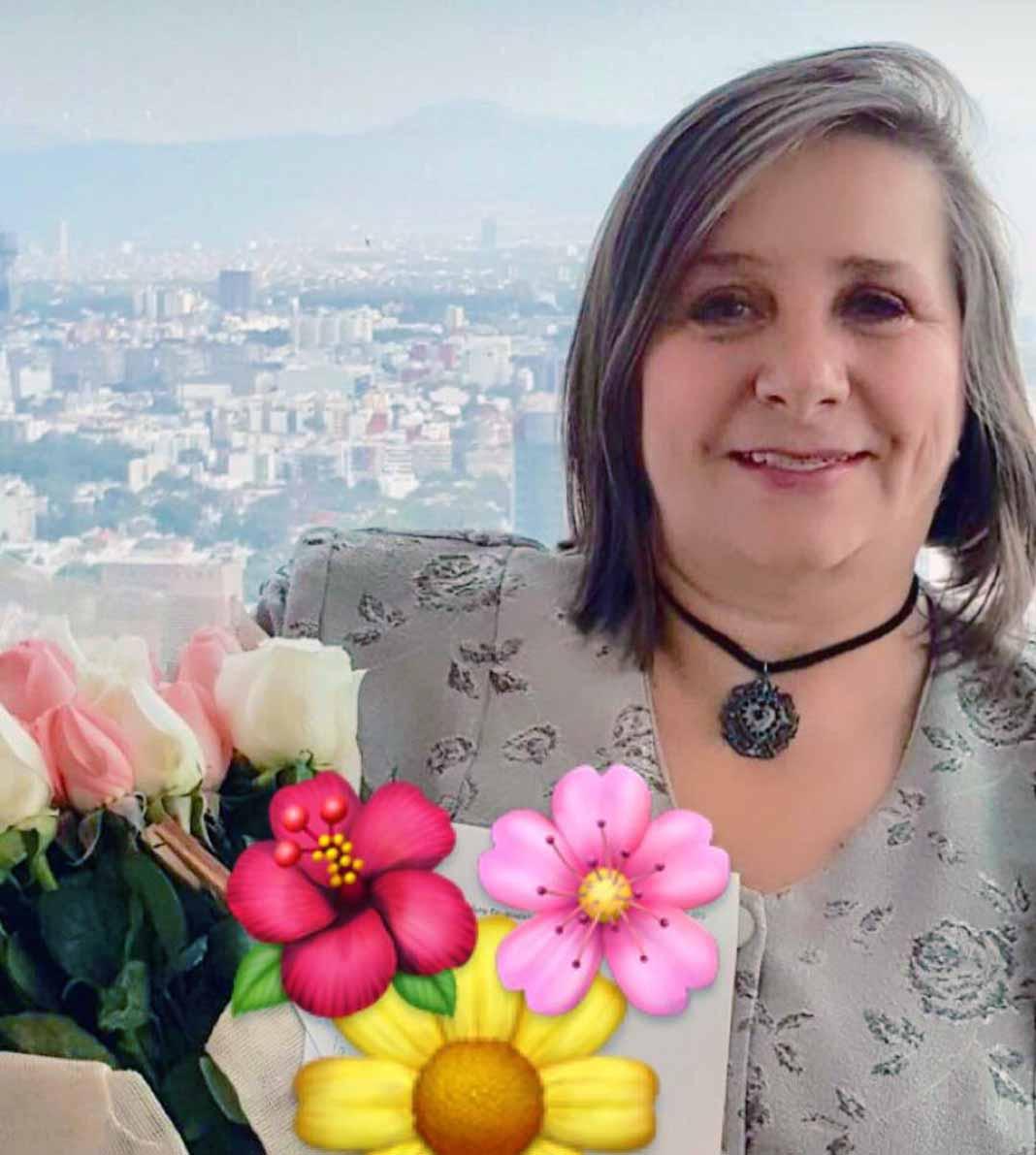 Doña Rosalba Ortiz toda la vida ha impulsado la carrera de su hija Geraldine