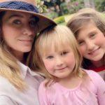 """""""Amo a mi familia"""", escribió Geraldine junto a esta imagen hace unas semanas"""