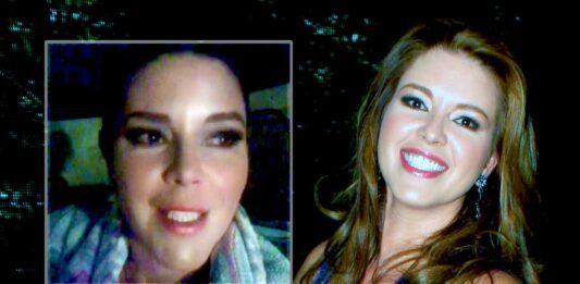 Alicia Machado se sintió en la necesidad de grabar un emotivo mensaje, pero luego se arrepintió