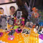 Marcela Basteri fue incluida, junto con Luisito Rey, en el altar de muertos de Aracely Arámbula