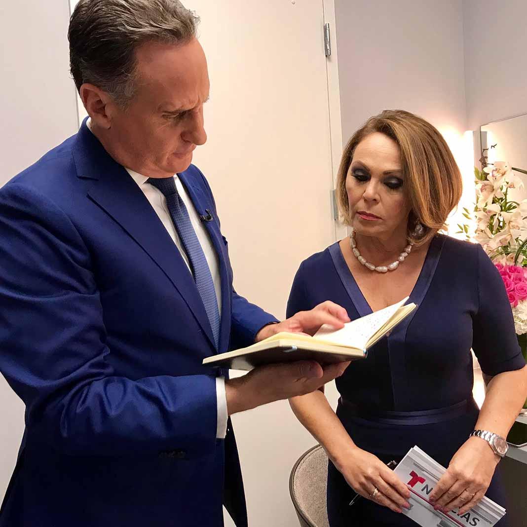 María Elena Salinas está de vuelta en Telemundo, por segunda ocasión