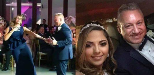 Lili Estefan fue la que más se divirtió en la boda de su hermano Juan