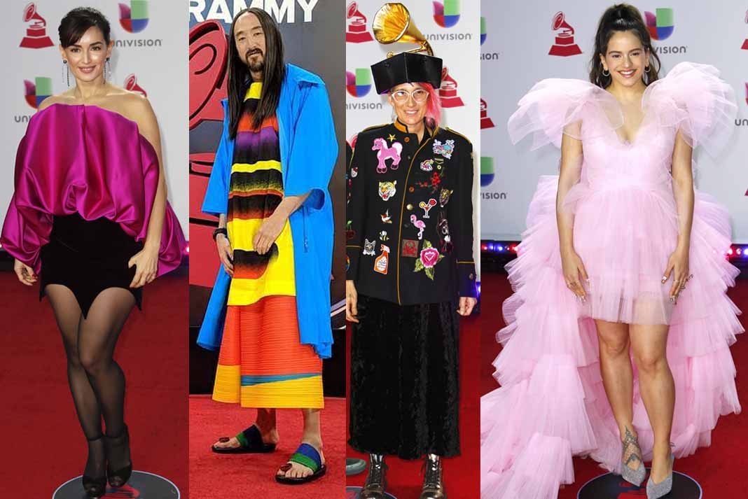 La alfombra roja de la edición 19 de los Latin Grammy