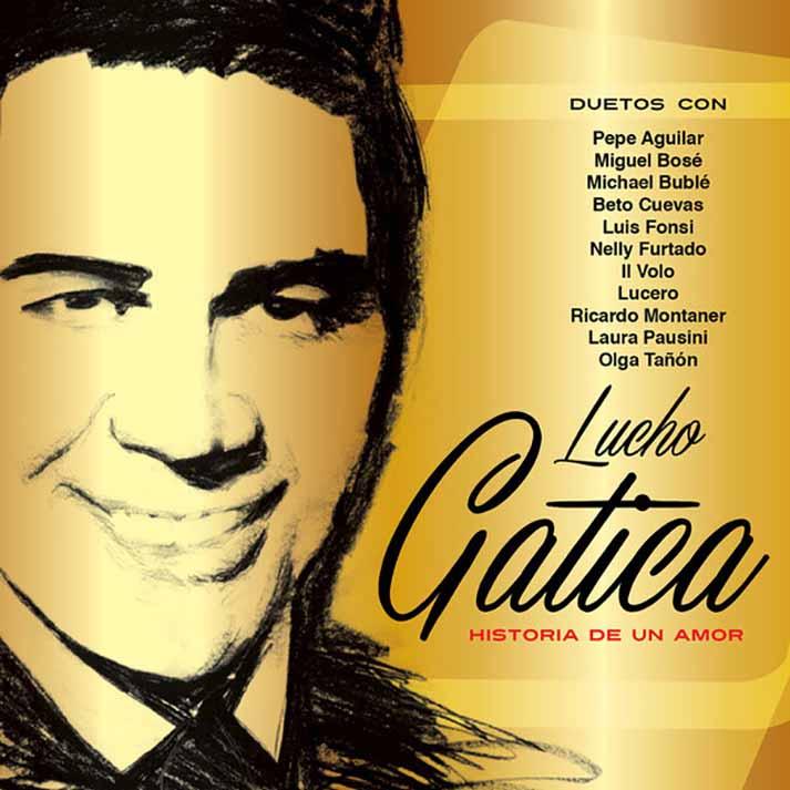 """Su último disco, de duetos, llamado """"Historia de un Amor"""""""