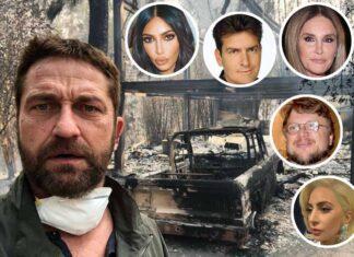 Los voraces incendios de este fin de semana han afectado a varios famosos de Hollywood