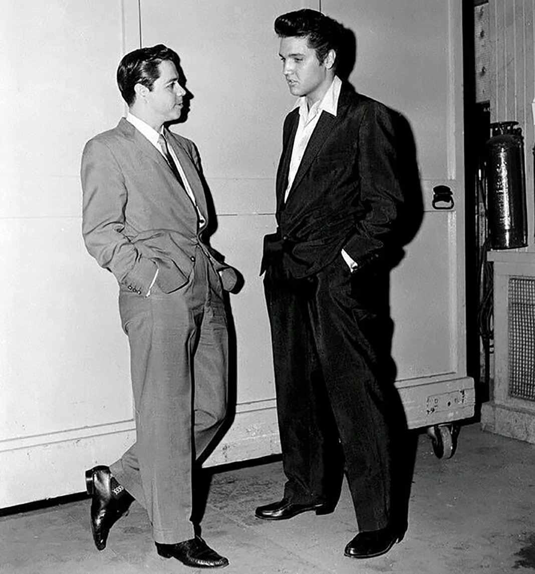 Lucho y Elvis se conocieron en 1957 en Hollywood