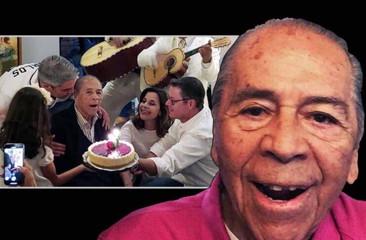 Lucho Gatica era muy querido por su familia y por sus fans