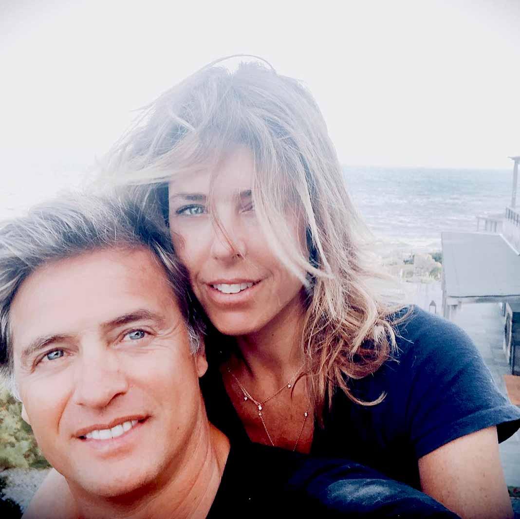 La pareja, en un reciente viaje a Punta del Este, Uruguay