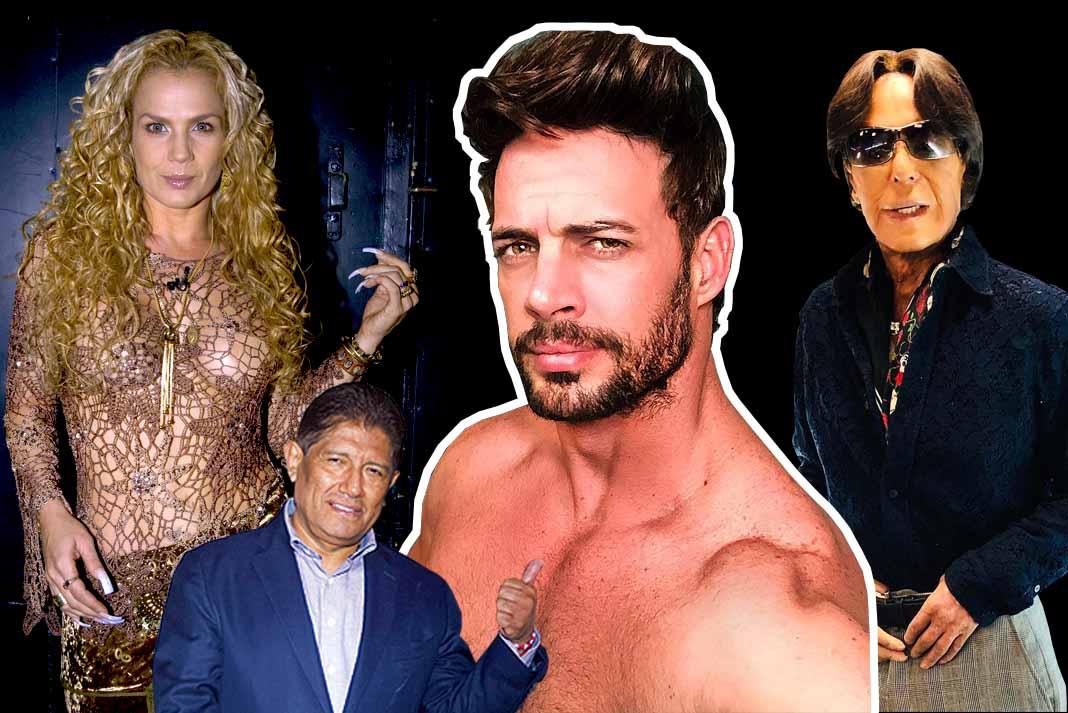 Todos contra William... caray, cómo le ha llovido al guapo cubano