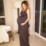 A horas de dar a luz, Martín compartió una foto que le tomó a Jaquie